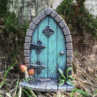 Shoemaker Mini Fairy Garden Door Image