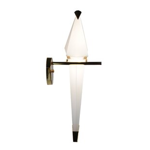 Look for Zeitler Birdie LED Armed Sconce By George Oliver