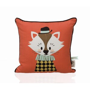 Aristo Katt Cotton Throw Pillow