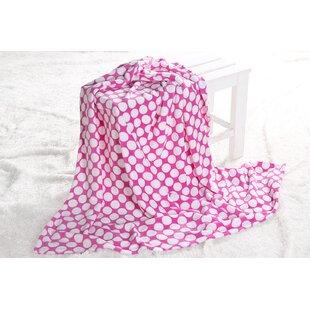 Best Reviews Chaliah Plush Throw Blanket ByHarriet Bee