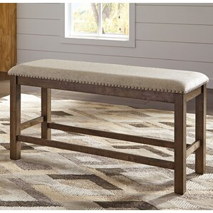 hillary upholstered dining bench
