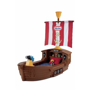 Top Reviews Pirate Ship Convertible Toddler Bed By Little Tikes