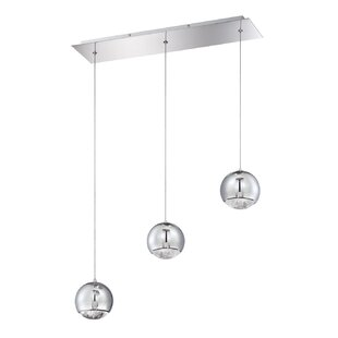 Spumante 3-Light Cluster Pendant by Kendal Lighting
