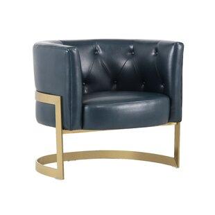 Club Karissa Barrel Chair by Sunpan Modern
