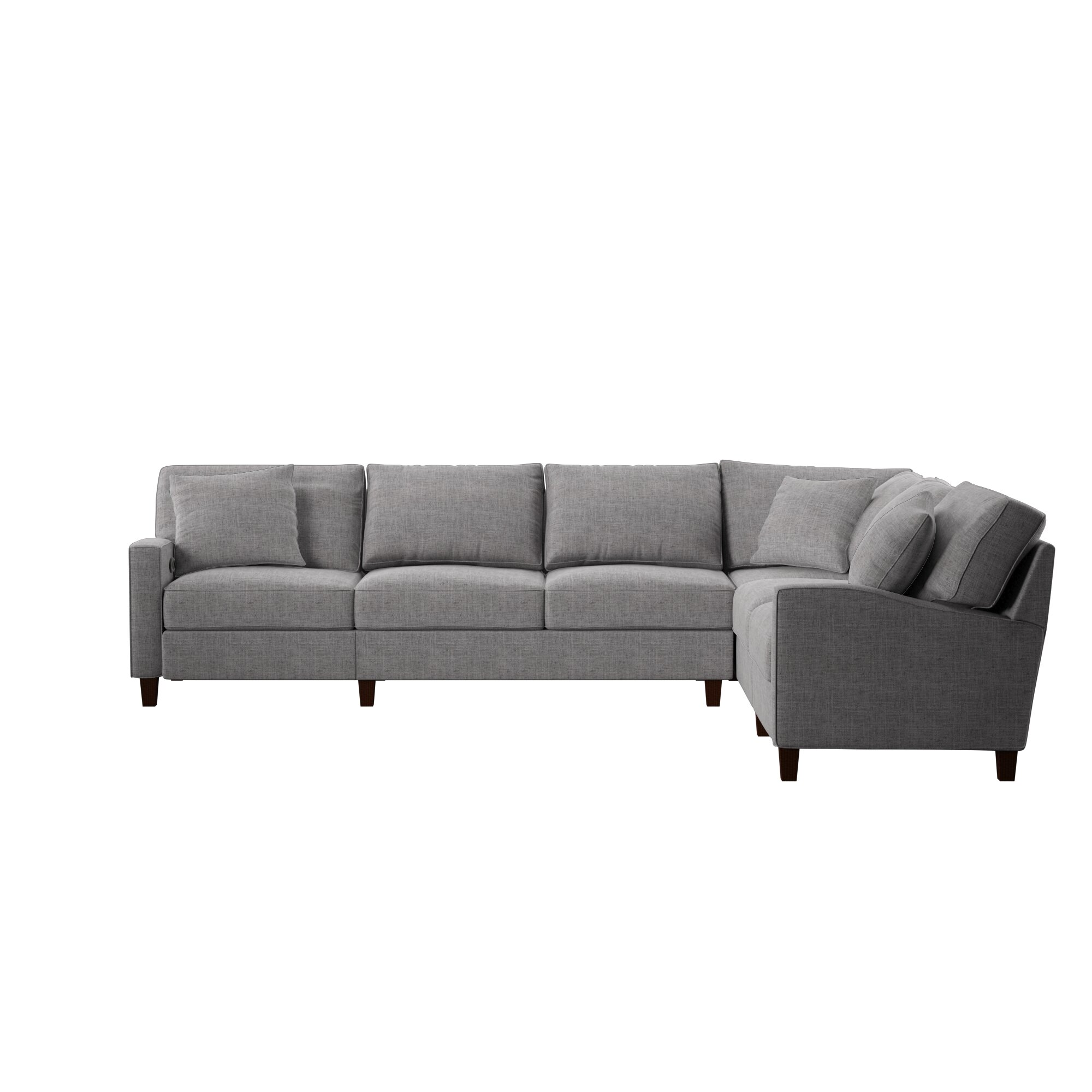 Simmons Reclining Sectional Wayfair