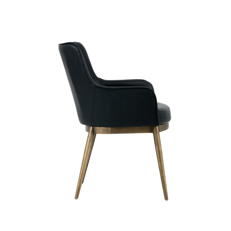 Siciliano Upholstered Arm Chair Allmodern