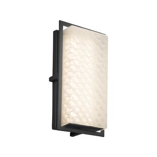 Brayden Studio Luzerne 1-Light Outdoor Flush Mount
