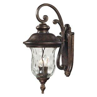 Fleur De Lis Living Anna 3-Light Outdoor Wall Lantern