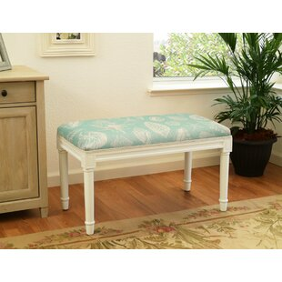 Dedrik Seashells Wood Bench