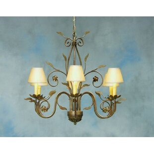 Bordeaux 6-Light Shaded Chandelier by 2nd Ave Design