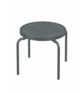 Boulevard Stacking Tea Aluminum Side Table