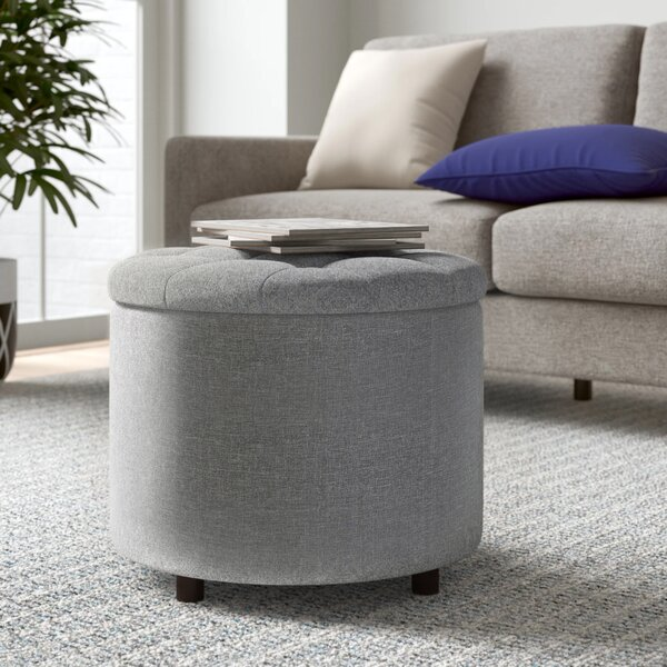 Remarkable Storage Ottoman With Tray Wayfair Gmtry Best Dining Table And Chair Ideas Images Gmtryco