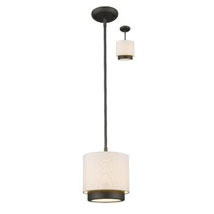 Orren Ellis Josue 1-Light Drum Pendant