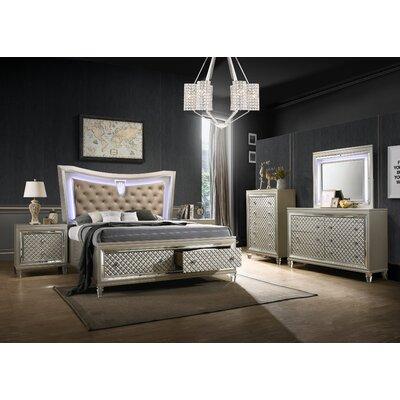 Rosdorf Park Maximiliano Standard 3 Piece Bedroom Set