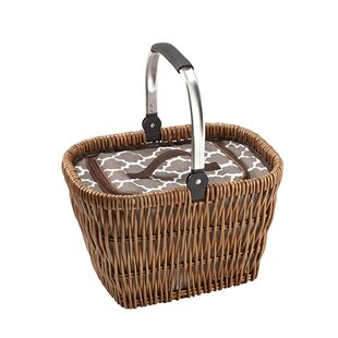Collapsible Handle Cooler Picnic Basket