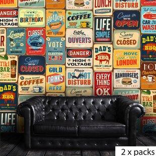 Extra Large Vintage Signs | Wayfair