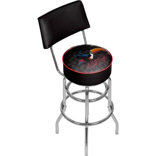 31 Swivel Bar Stool by Trademark Global 2019 Sale