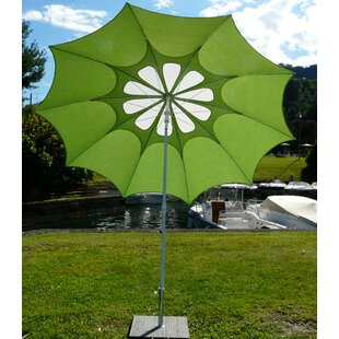 Sila 2.4m Beach Parasol By Sol 72 Outdoor