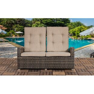 Unger Outdoor Loveseat with Cushions by Highland Dunes