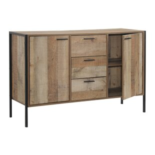 Union Rustic Maher 3 Drawer Accent Cabinet