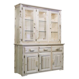Loon Peak Abordale Lighted China Cabinet Top