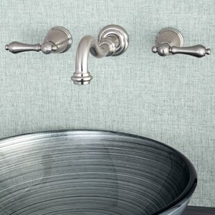 Wall Mounted Bathroom Faucet By Kingston Brass