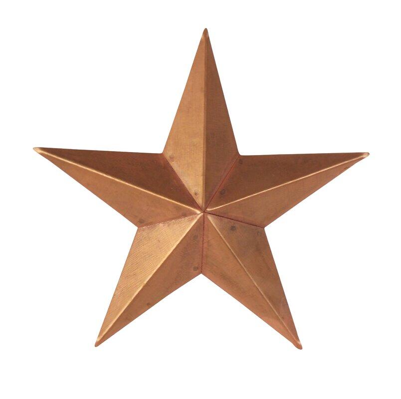 Tin Star Wall Décor Part 20