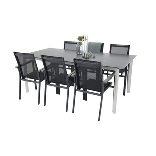 Donelson Dining Set With 6 Chairs By Mercury Row