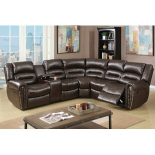 Eisenman 3 Piece Reclining Sectional Set