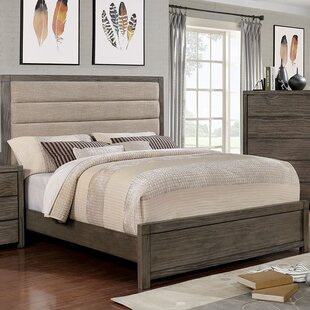 Gracie Oaks Elowen Upholstered Panel Bed