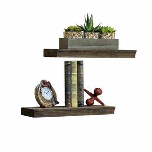 Hedrick 2 Piece Floating Shelf Set by Gracie Oaks