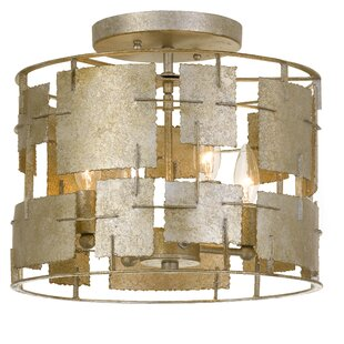 World Menagerie Dolson 4-Light Semi Flush Mount