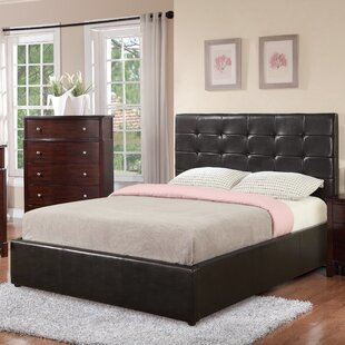 Upholstered Storage Platform Bed by A&J Homes Studio