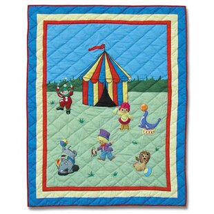 Price Check Circus Cotton Crib Quilt ByPatch Magic
