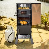 Vertical Propane Portable 734.7 Square Inches Smoker