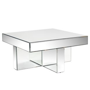 Lucy Mirrored Coffee Table Statements by J Purchase
