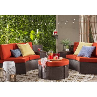 Soperton 5 Piece Sofa Seating Group with Cushions