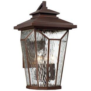 Auberkonos 4-Light Outdoor Wall Lantern