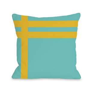 Meeting Stripes Throw Pillow