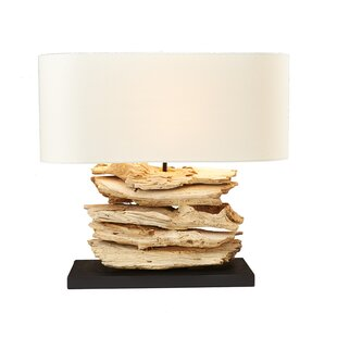 Best Reviews Metzger Driftwood 16 Table Lamp By Union Rustic