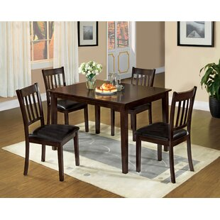 Lars 5 Piece Dining Set Alcott Hill