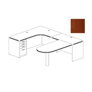 Mayline Group Aberdeen Series U-Shape Executive Desk