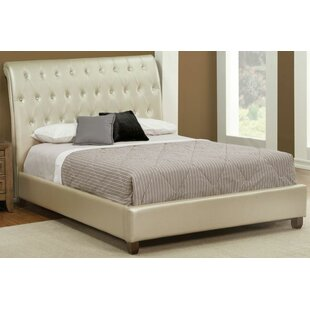 Warren Upholstered Sleigh Bed by Rosdorf Park