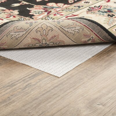 Symple Stuff Houchin PVC Non-Slip Polyester Rug Pad 0.04 Rug Pad Size: Rectangle 7'6 x 10'8