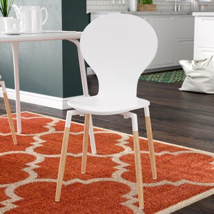 Downridge Solid Wood Dining Chair Zipcode Design