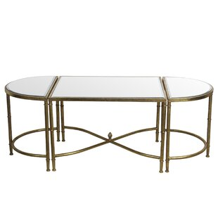 Willa Arlo Interiors Gofried 3 Piece Coffee Table Set