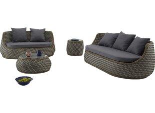Brayden Studio Agora Naxos 5 Piece Sofa Set with Cushions