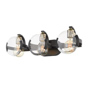 Wrought Studio Zendaya 3-Light Vanity Light