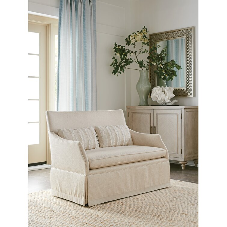 """Hyland Park 51"""" Flared Arm Settee"""