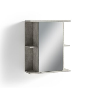 Gehl 60 X 70cm Mirrored Wall Mounted Cabinet By Wade Logan